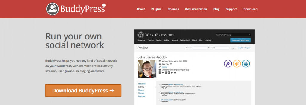 BuddyPress wordpress Plugin - PSDs2WP