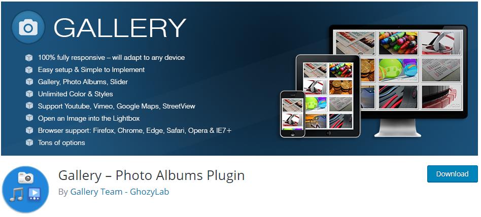 Gallery plugin by GhozyLab